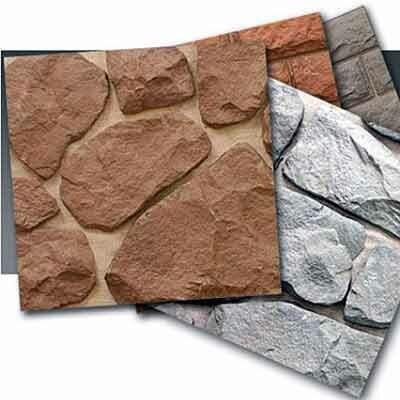 Натуральный и искусственный камень как облицовочный материал для фасада.