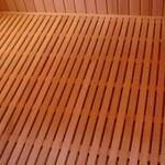 Правильные полы в бане