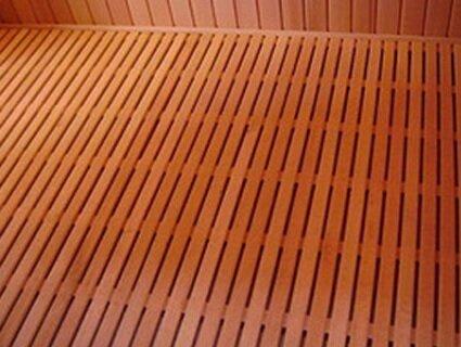 протекающие правельные полы в бане