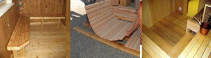 деревянная конструкция полов в бане - правильные полы