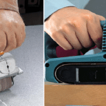 Шлифовка сруба современными инструментами