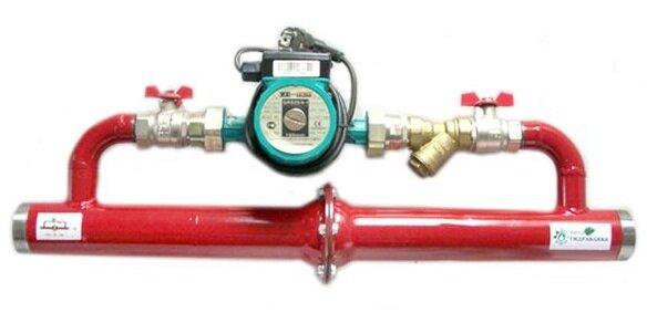 Циркуляционный насос с клапаном