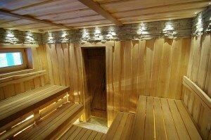 Фото баня внутри 12